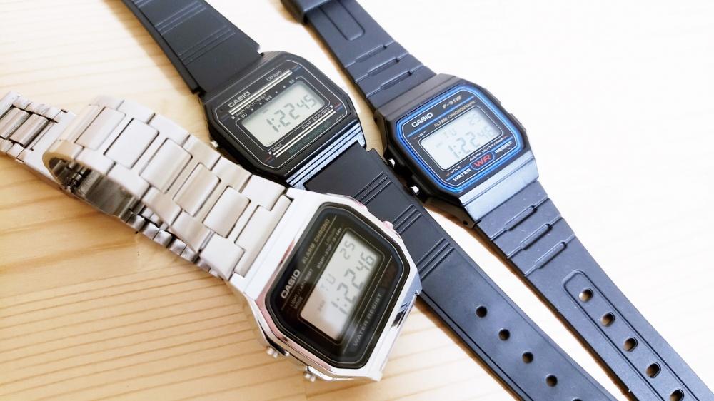 腕時計チープカシオが大好きです