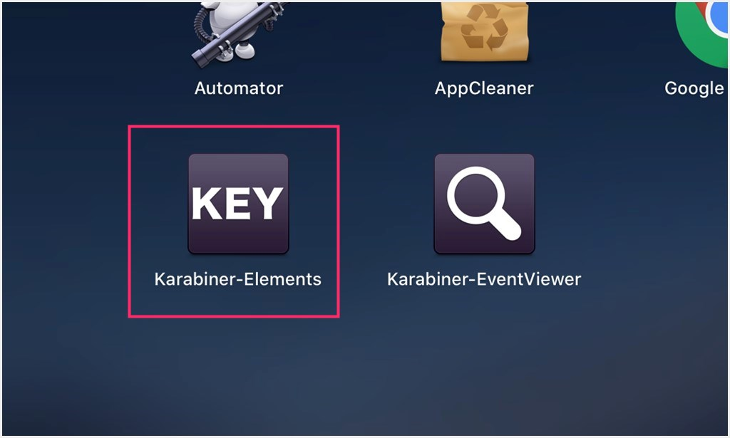 Karabiner-Elements アイコン