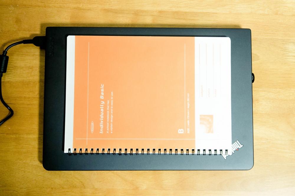 ThinkPad 13 大きさ(B5ノートとの比較)