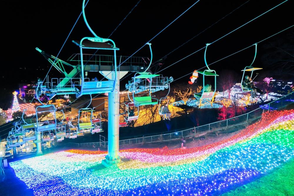 さがみ湖イルミリオン - 光のリフト02