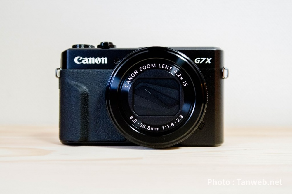 G7X markⅡ正面