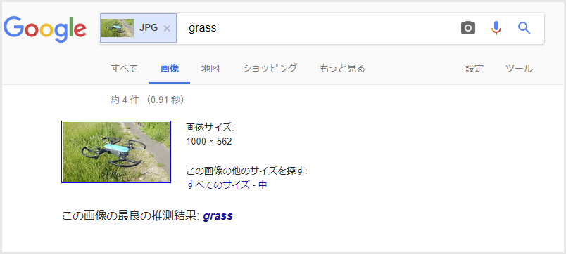 Google画像検索 検索結果