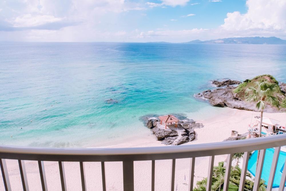 ホテルみゆきビーチからの眺め