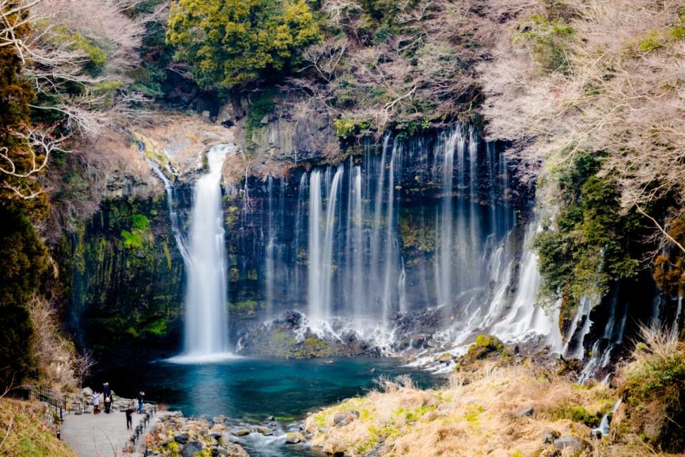 静岡「白糸の滝」