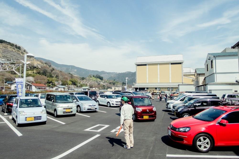 やまきた桜まつり駐車場