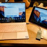Windows ノートPCを iPad を使ってデュアルディスプレイに