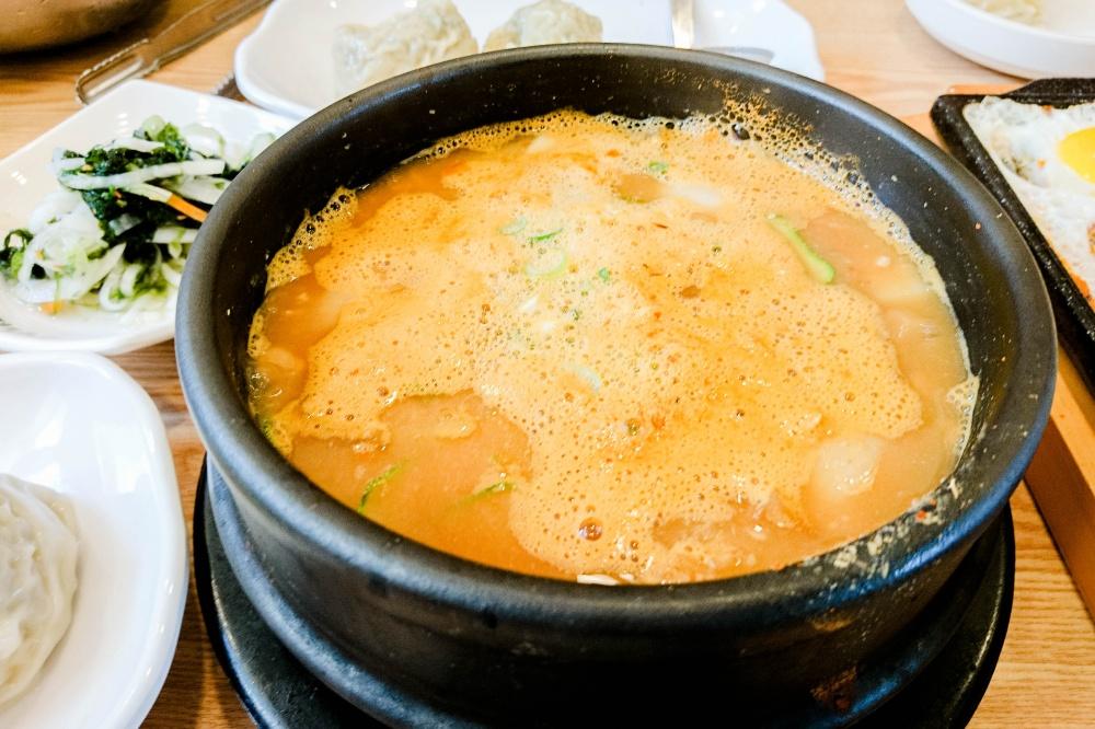 チョングッチャン(納豆鍋 /청국장)