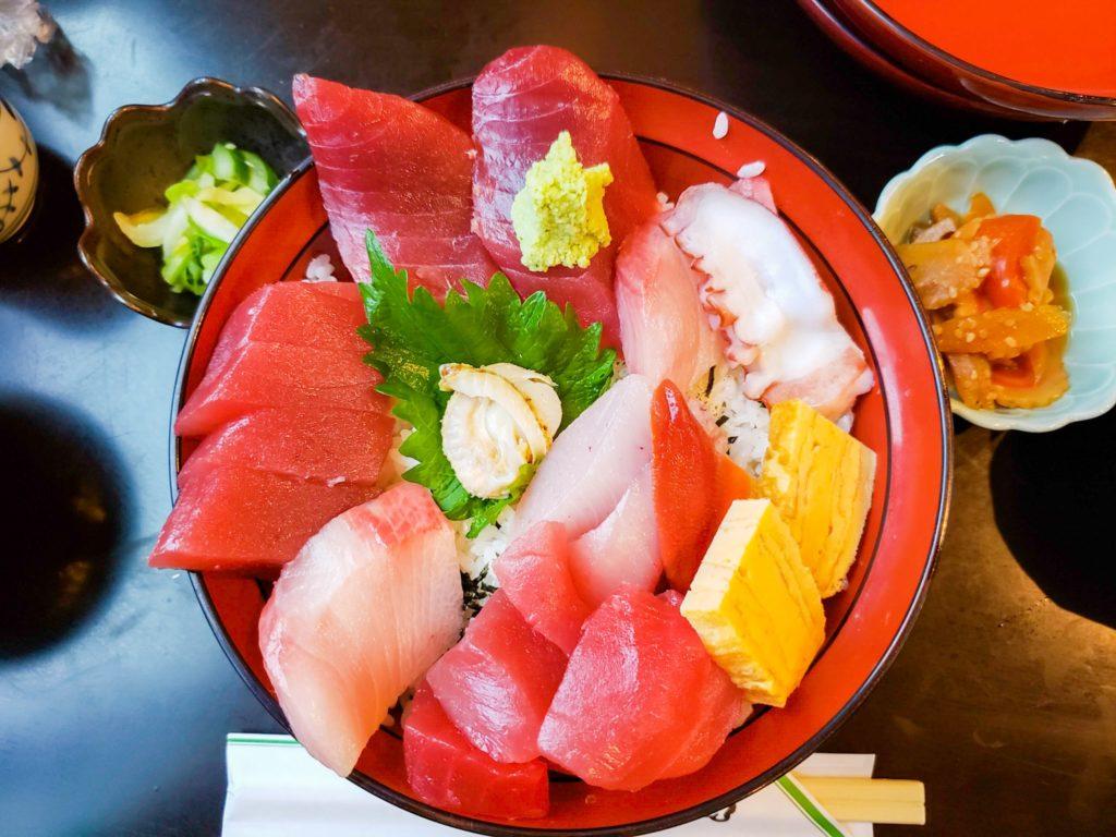 海鮮丼(編集後)