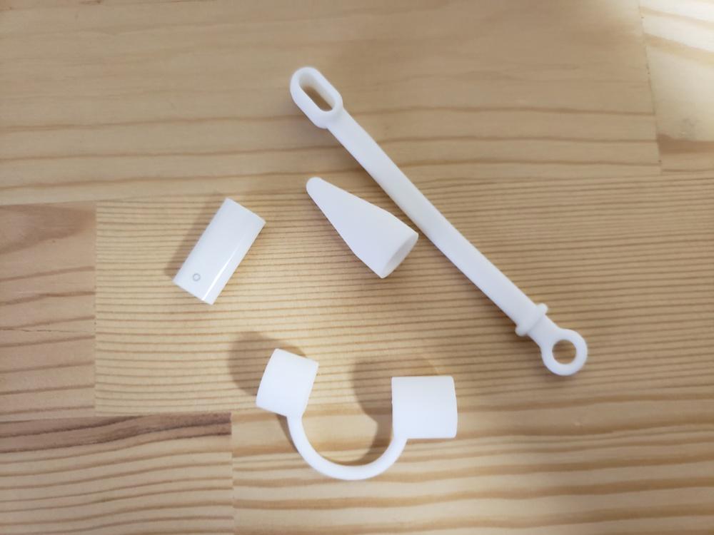 Apple Pencil キャップ・ペン先カバー・充電用変換アダプタ