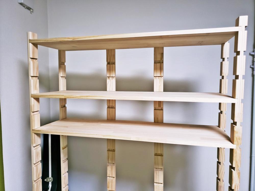 DIY 初心者でズブの素人が自作の棚作りに挑戦!