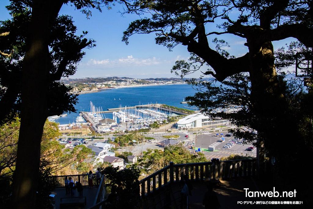 江ノ島からの景観