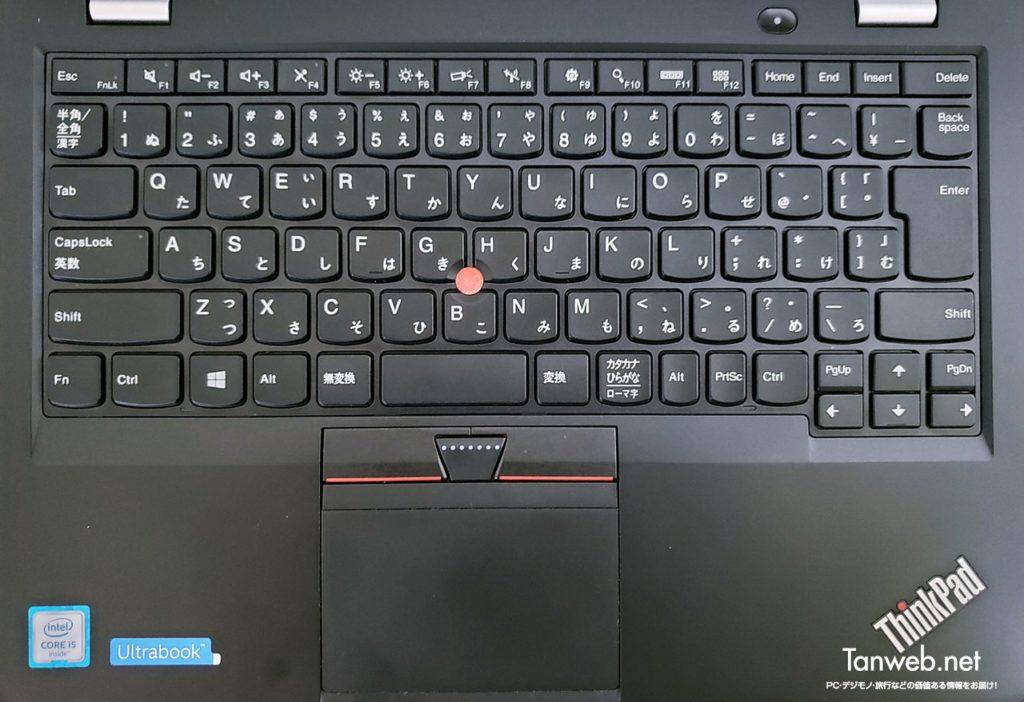ThinkPad キーボードの全体像