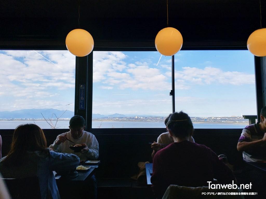江ノ島に訪れるといつもランチは「江ノ島亭」