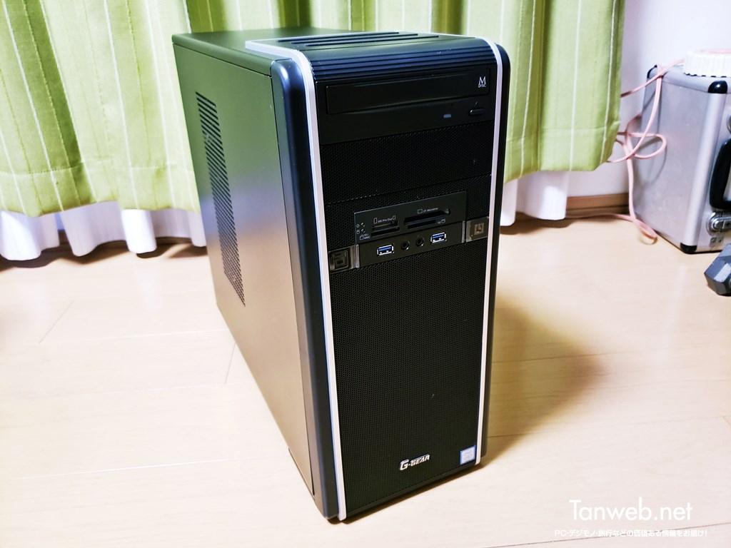 実際に利用中のTSUKUMOのデスクトップPC