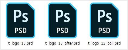 PSDファイル形式のアイコン