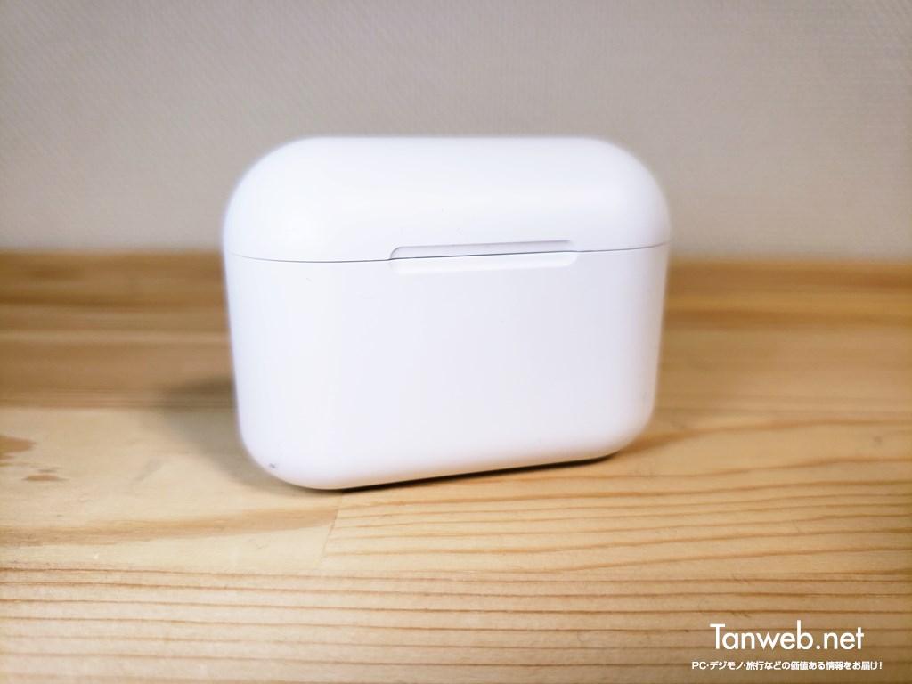 インナーイヤー型Bluetoothイヤホン「T1」バッテリーケース正面