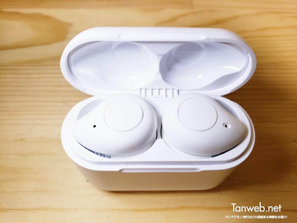 インナーイヤー型Bluetoothイヤホン「T1」イヤホン挿入部
