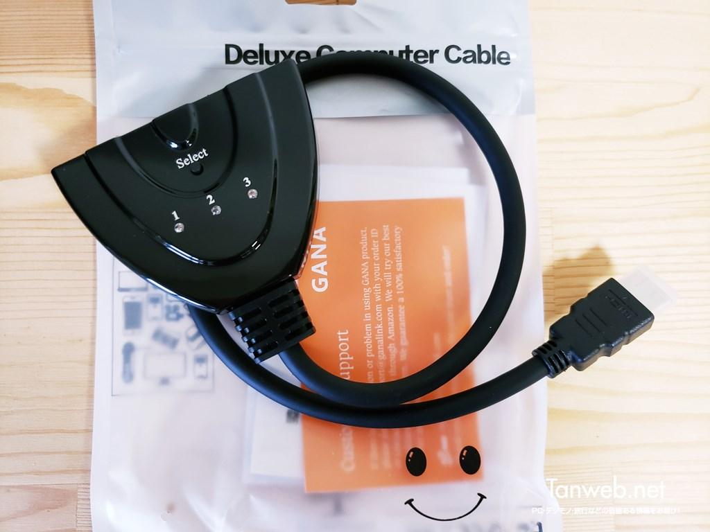 HDMI 入力端子を簡単に増やせるアイテム「スイッチャー」