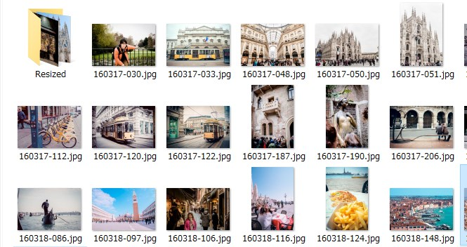 画像の一括リサイズフルーソフト「縮小専用。」の使い方04