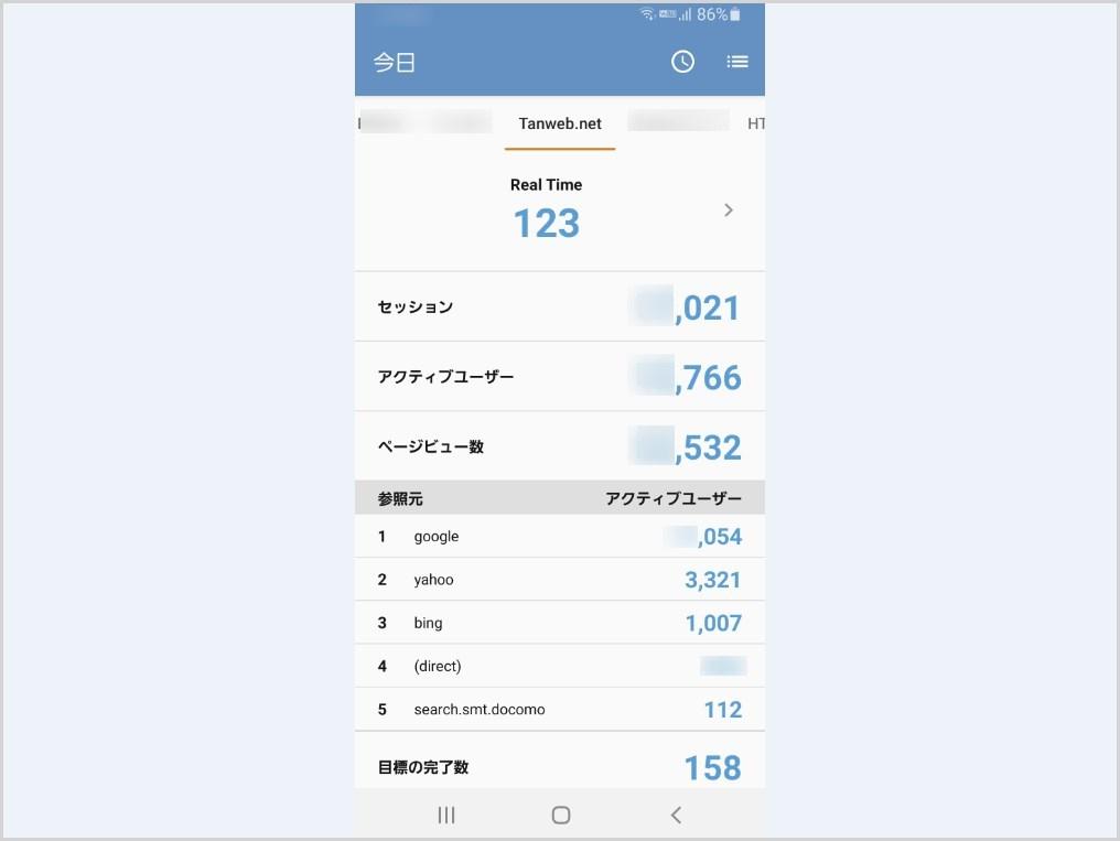 AnalyticsPM トップ画面