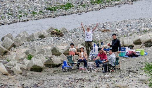 超穴場!小田原の酒匂川河川敷でバーベキューをしてきました。