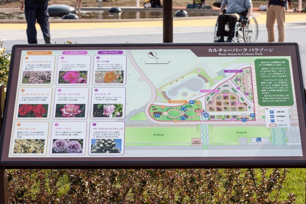 カルチャーパーク・バラゾーンマップ