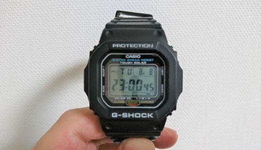 意外と知らない「G-SHOCKの時刻合わせ方法」を紹介します