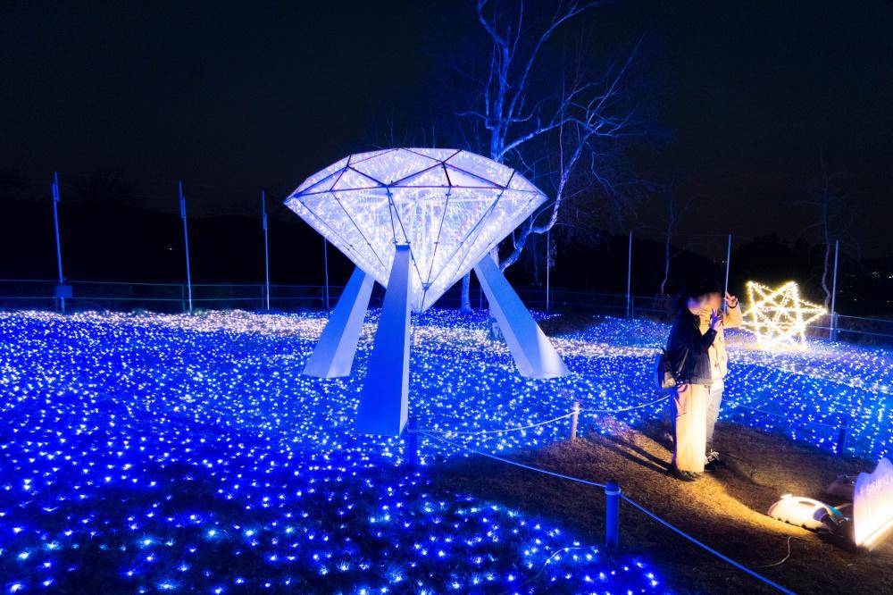 さがみ湖イルミリオン - 光のダイヤ