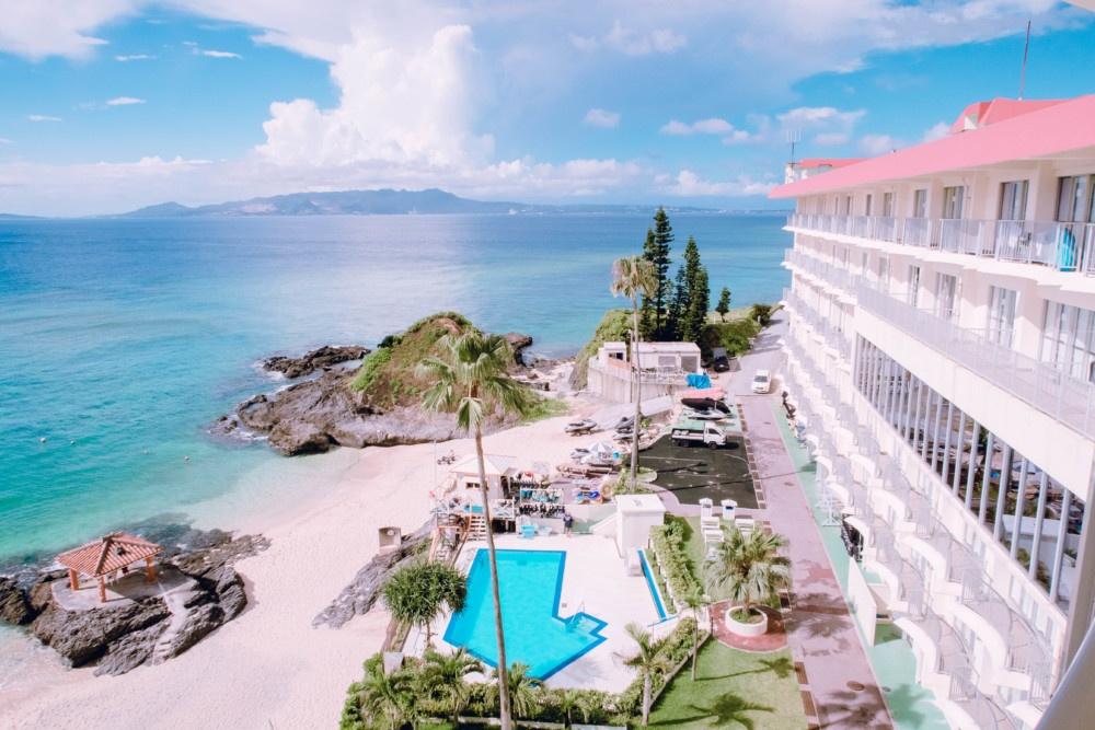 ホテルみゆきビーチは全室オーシャンビュー