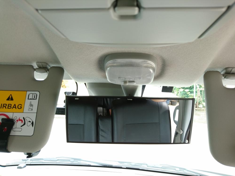 軽自動車バックミラーの視野が狭い!もうちょっと広くならない?を解消する素敵アイテム「軽自動車対応拡張ミラー」