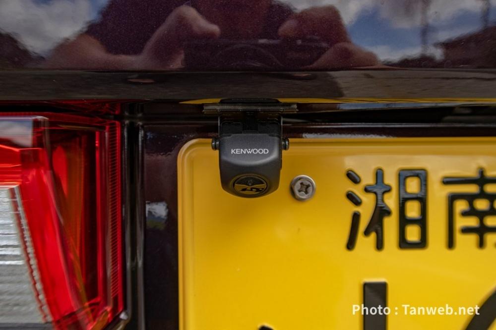 ケンウッド(KENWOOD) ケンウッド専用リアカメラ ブラック CMOS-C230