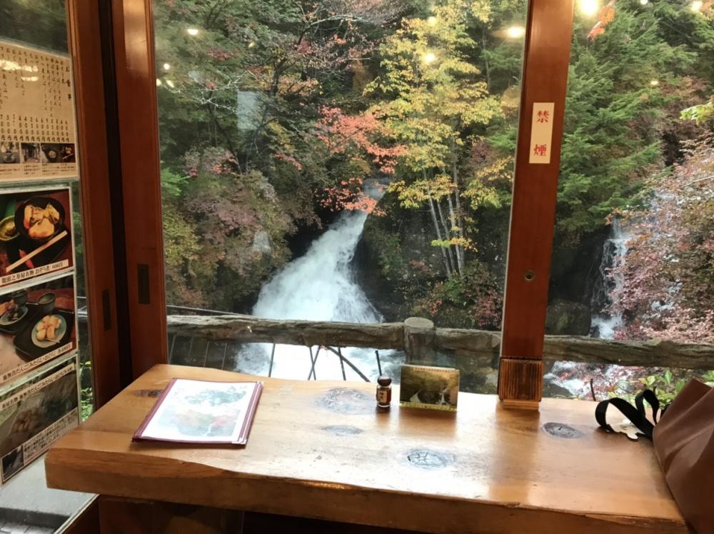 竜頭の滝「観瀑台カフェ」