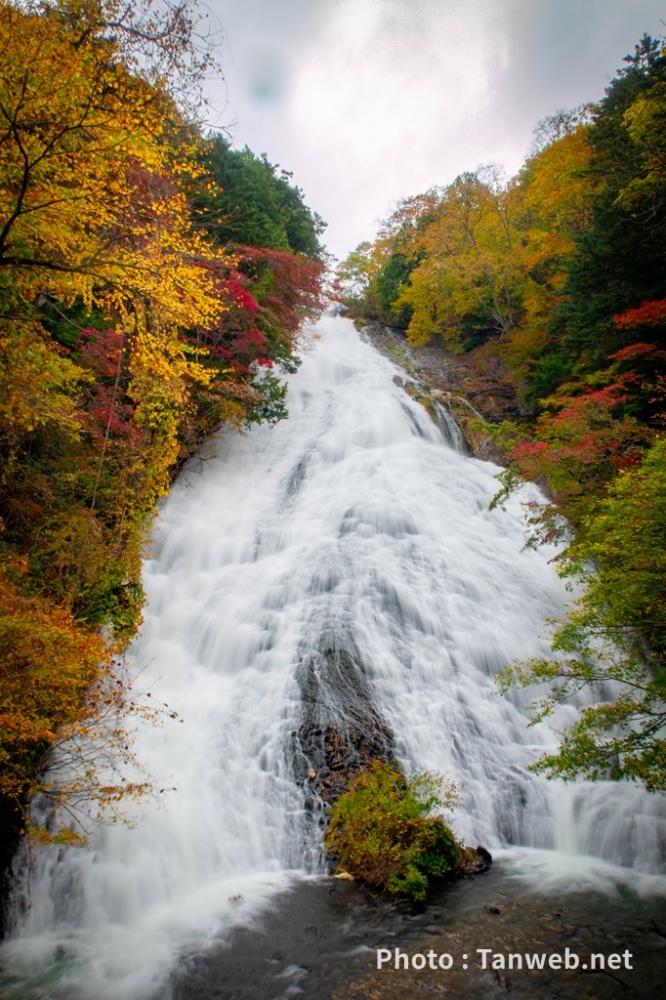 紅葉の奥日光「湯滝」