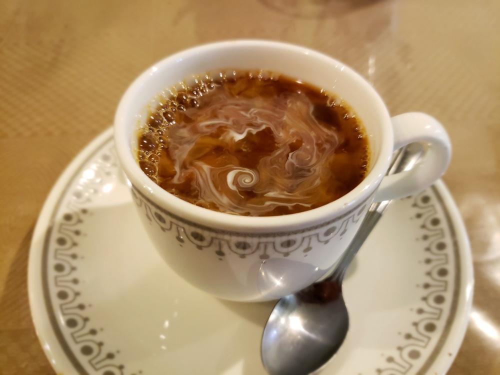 暗いコーヒーの写真