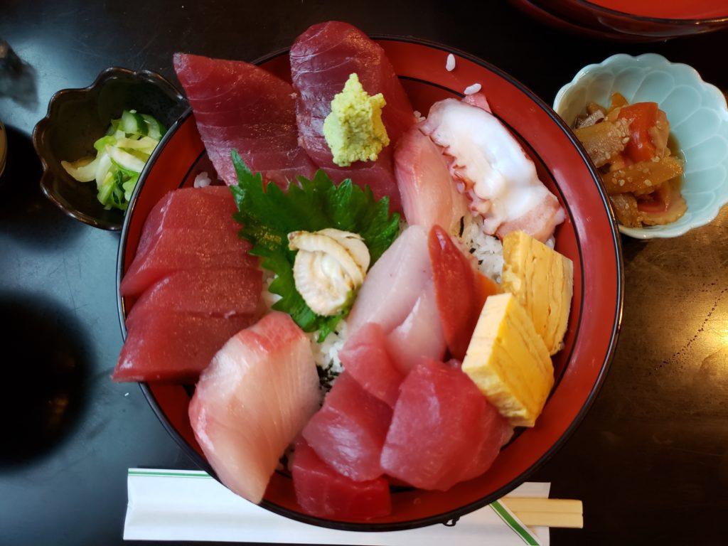 海鮮丼(編集前)