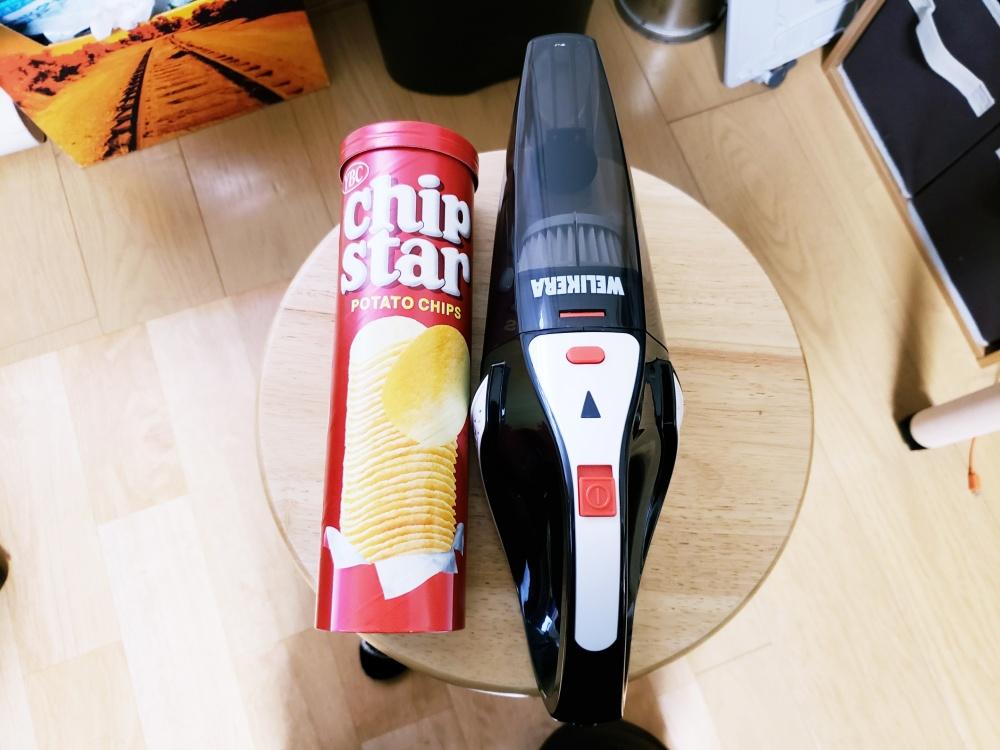 床の抜け毛やほこり掃除のために充電式ハンディクリーナーを買いました!