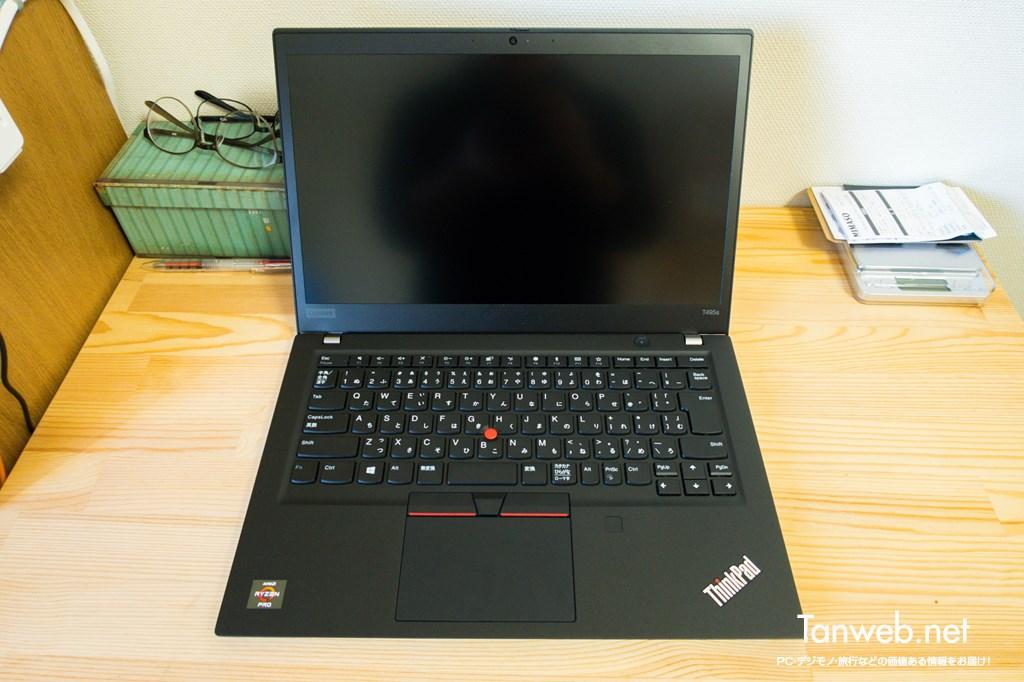 ThinkPad T495s ノングレア液晶