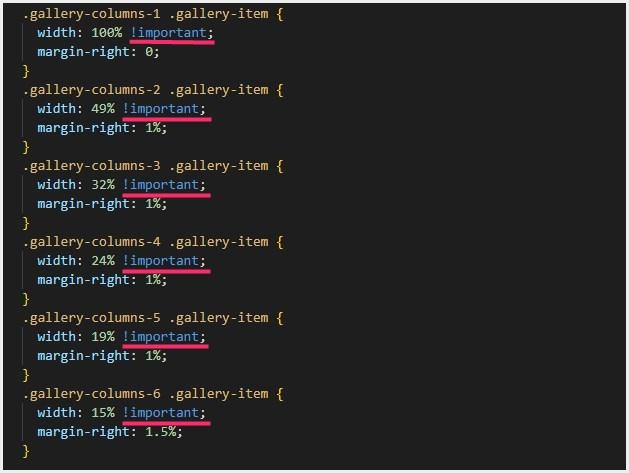 WordPress 5.3に更新したらギャラリーが崩れて横並びにならない不具合解消方法(SANGOベース)