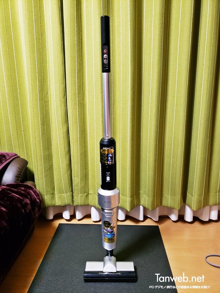 アイリスオーヤマ超軽量コードレス掃除機「IC-SLDCP5」の紹介