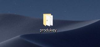 ProduKey のアンインストール方法