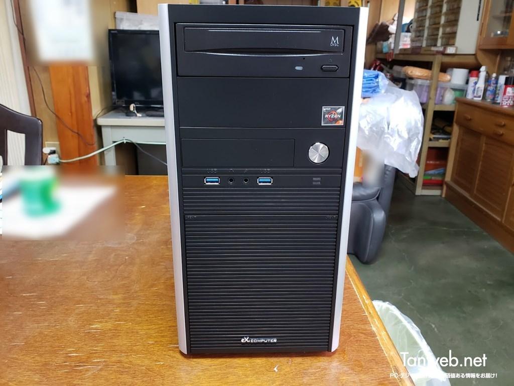 AMD Ryzen 搭載のミドルタワー