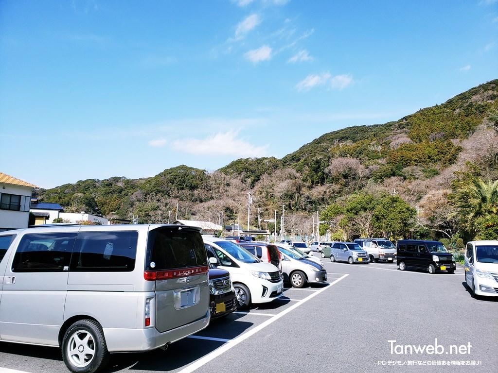 道の駅「下賀茂温泉 湯の花」は11時台で満車
