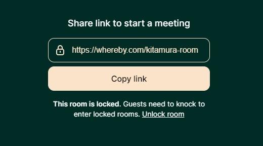 ホストのルーム画面の紹介02