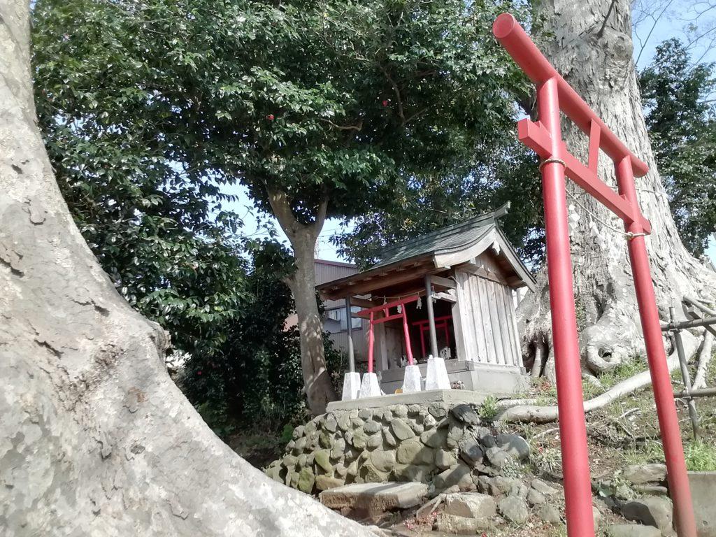稲荷神のお社