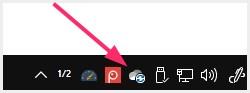 読込中の OneDrive アイコン