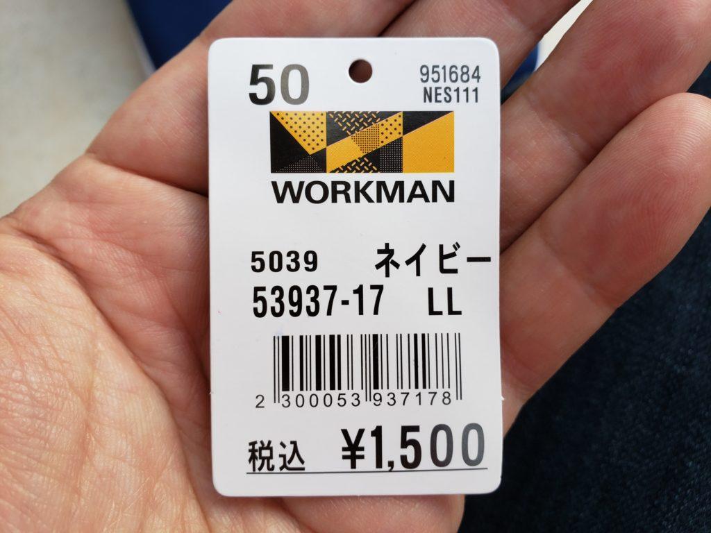 ワークマンのソックシューズはたった1500円
