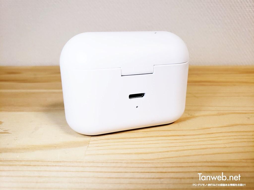 インナーイヤー型Bluetoothイヤホン「T1」バッテリーケース背面