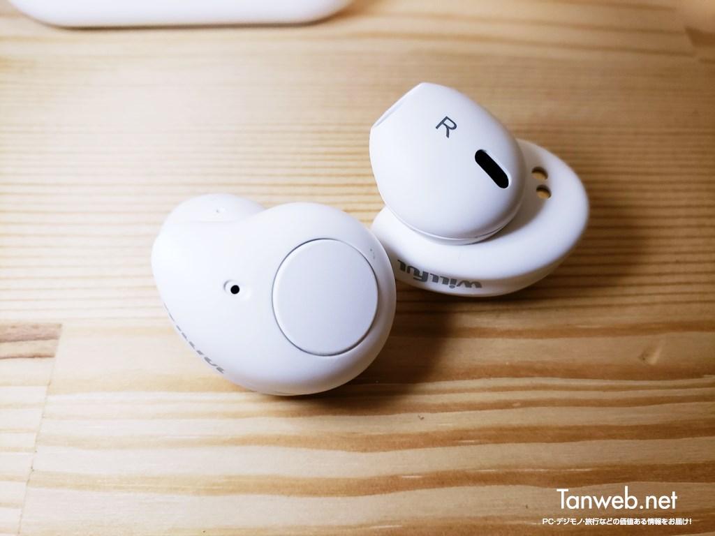 インナーイヤー型Bluetoothイヤホン「T1」左右イヤホン