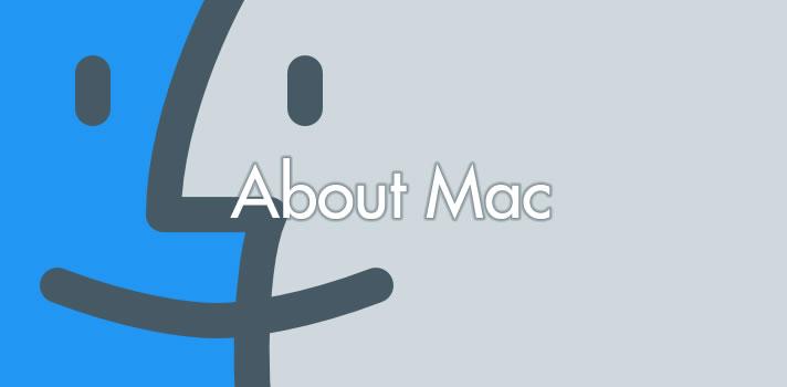 About Mac(Finder)