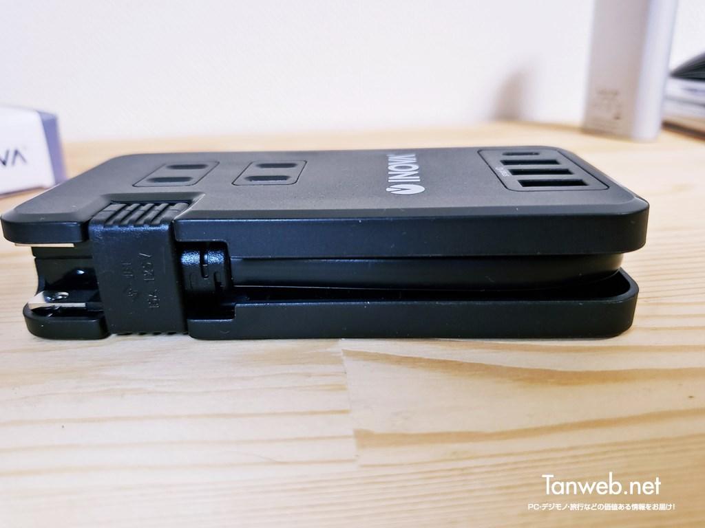 INOVA コンセント付き USB-C PD 30W 対応電源タップ03